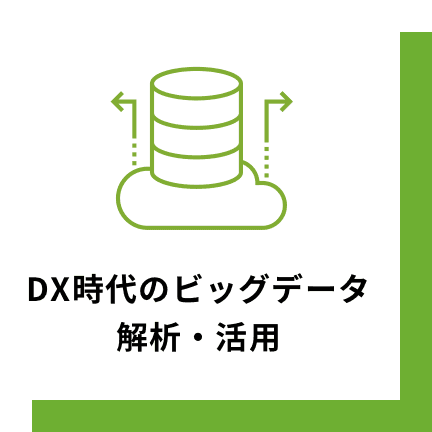 DX時代のビッグデータ解析・活用